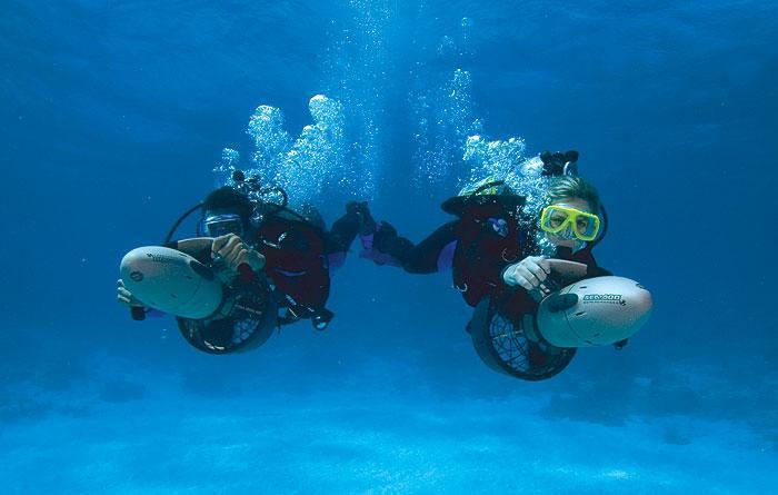 Dive Propulsion Vehicle